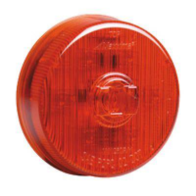 Maxxima M20341YCL 7 LED 4 Rectangular Amber Clear Leans Low Profile Clearance Marker Light