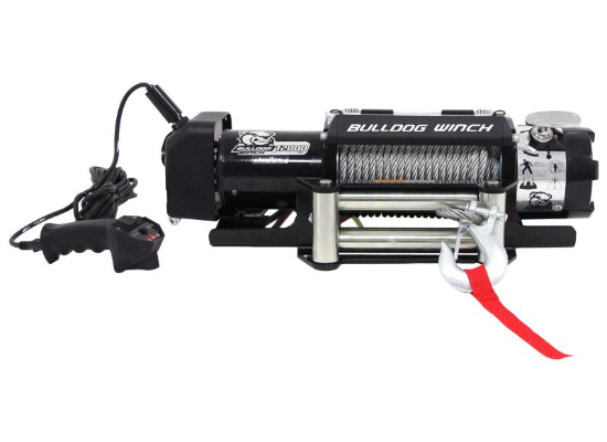 Admirable Bulldog Winch 10039 12000Lb Trailer Winch Wire Rope Roller Wiring Database Obenzyuccorg