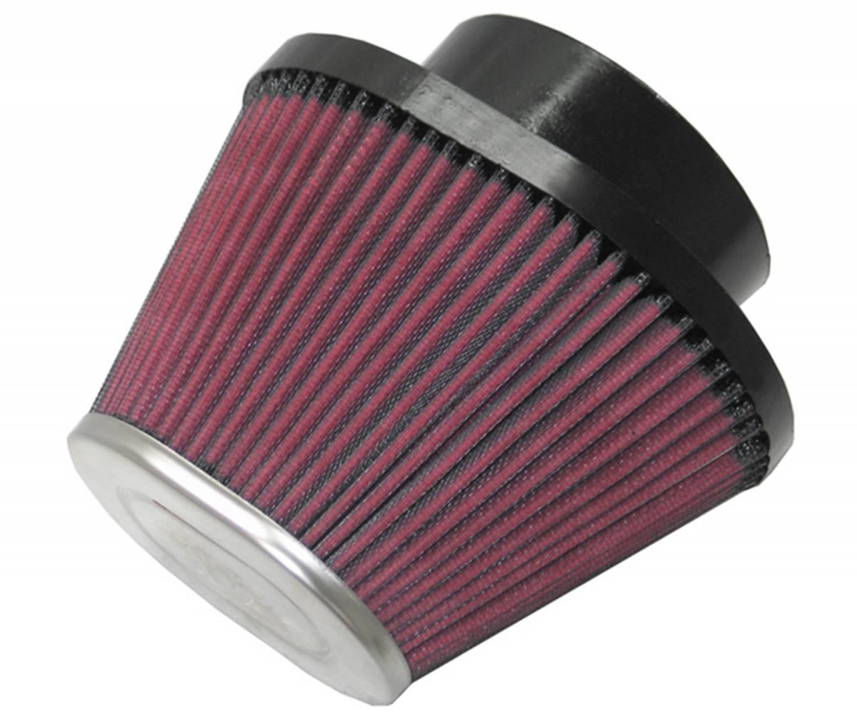 K/&N RC-5010 High Performance Universal Clamp-on Chrome Air Filter K/&N Engineering
