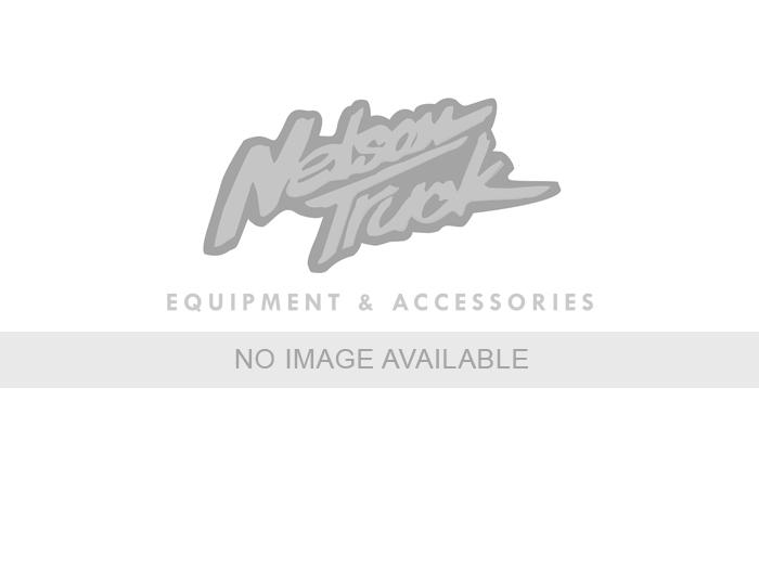 Premium Oval Side Bar Steelcraft 402219BP 5 in Premium Oval Side Bar Black Powdercoat Rocker Mount 5 in