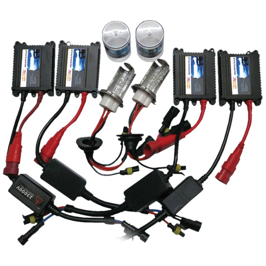 Race Sport 9007 4 6K SLIM True Bi Xenon HID KIT