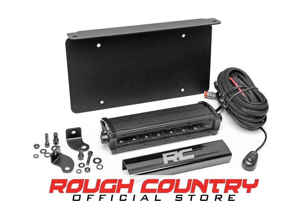 Rough Country Suspension Led License Plate Westin Wiring Harness Kit No Vehicle Selected
