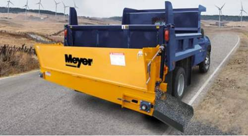 Snow Plows/Spreaders - Spreader/De-Ice Options