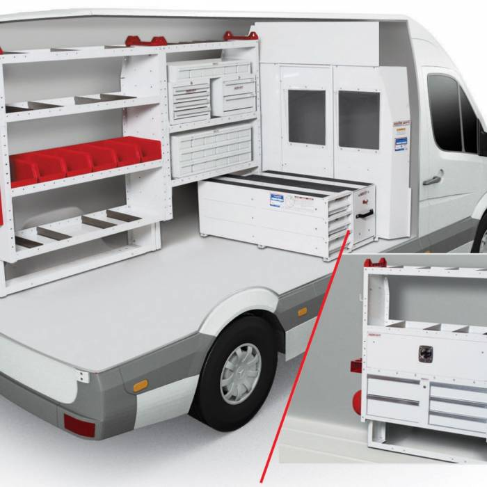 Weather Guard - Weather Guard Van Packages/Modules, Sprinter (600-9204)
