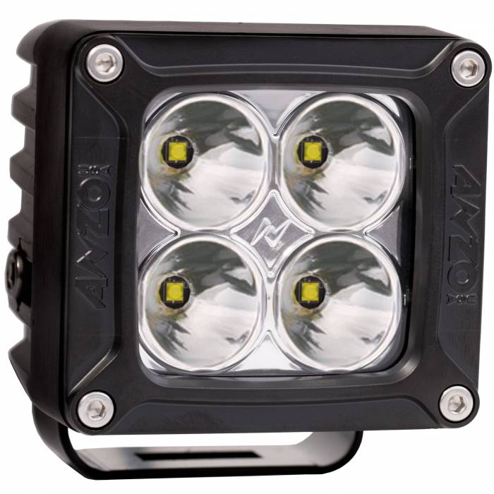 Anzo USA - Anzo USA Rugged Vision Off Road LED Spot Light 881045