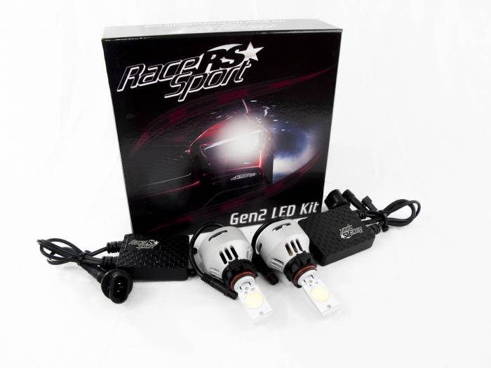 Race Sport - Race Sport 5202 G2 5500K TRUE LED Headlight Kit (5202-LED-G2-KIT)