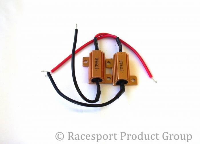 Race Sport - Race Sport 6 Ohm 10 Watt Load Resistors - PAIR (6OHM10WATT)