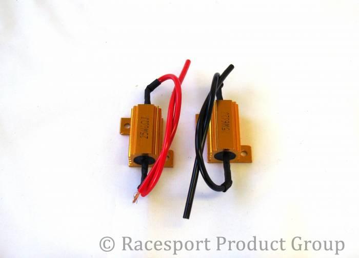Race Sport - Race Sport 6 Ohm 25 Watt Load Resistors - PAIR (6OHM25WATT)