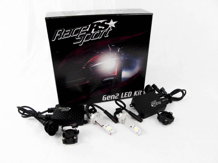 Race Sport - Race Sport 880 G2 5500K TRUE LED Headlight Kit (880-LED-G2-KIT)
