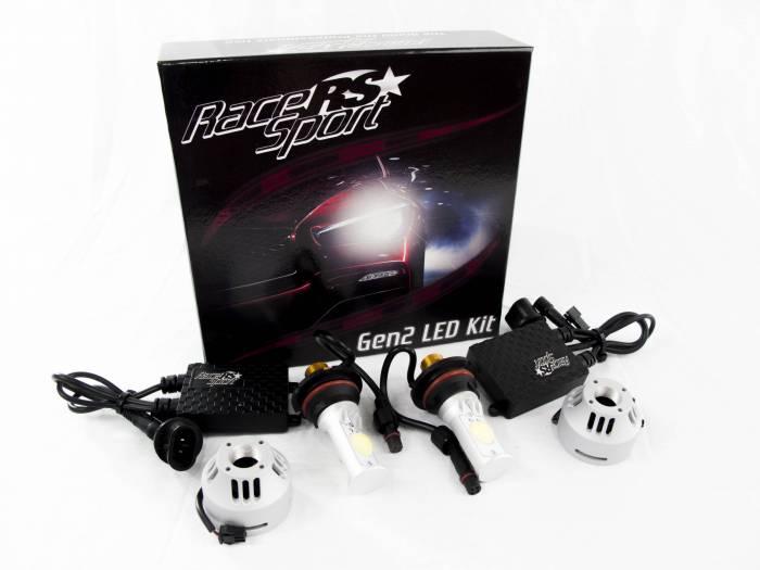 Race Sport - Race Sport 9004 G2 5500K TRUE LED Headlight Kit (9004-LED-G2-KIT)
