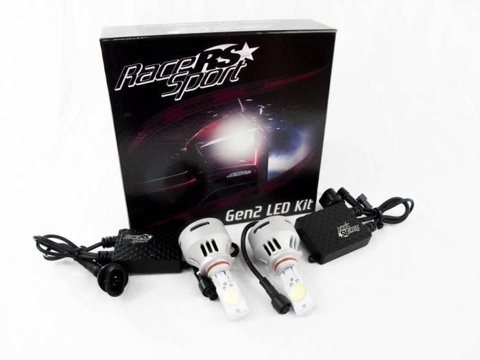 Race Sport - Race Sport 9005 G2 5500K TRUE LED Headlight Kit (9005-LED-G2-KIT)