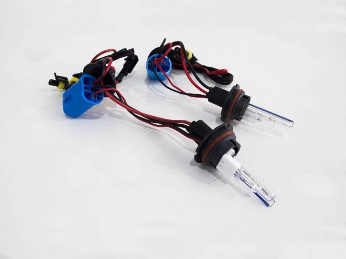 Race Sport - Race Sport 9007 Purple Replacement Bulb (Pair) (9007-PURPLE-SB-RB)