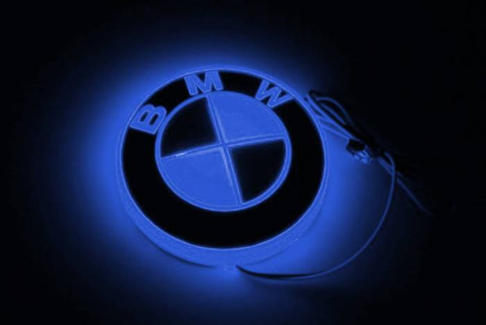 Race Sport - Race Sport LED Illumination Badge (BMW-Blue) (BMW-LED-BLUE)