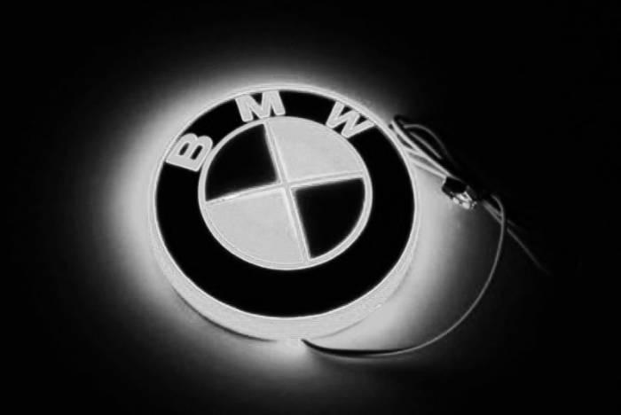 Race Sport - Race Sport LED Illumination Badge (BMW-White) (BMW-LED-WHITE)
