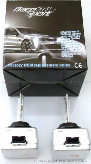 Race Sport - Race Sport D1 6K Replacement Bulb (Pair) (D1-6K-SB-RB)
