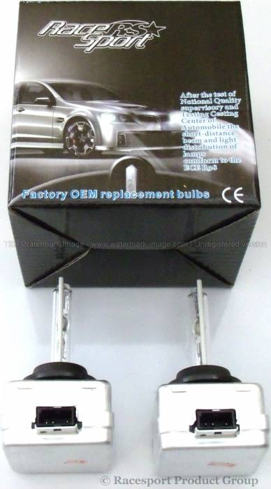 Race Sport - Race Sport D1 8K Replacement Bulb (Pair) (D1-8K-SB-RB)