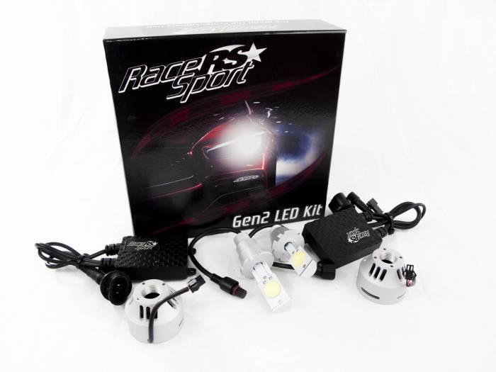 Race Sport - Race Sport D2 G2 5500K TRUE LED Headlight Kit (D2-LED-G2-OEM-KIT)