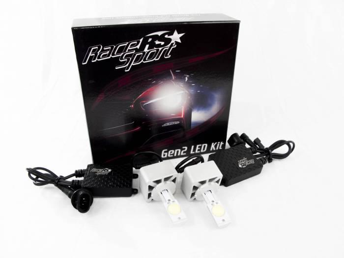 Race Sport - Race Sport D3 G2 5500K TRUE LED Headlight Kit (D3-LED-G2-OEM-KIT)