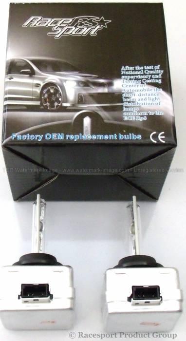 Race Sport - Race Sport D3 6K Replacement Bulb (Pair) (D3-6K-SB-RB)