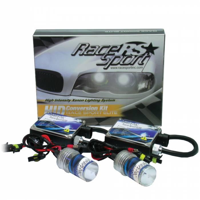Race Sport - Race Sport H4-3 10K 35 Watt Elite Bi-Xenon HID Kit (H4-3-10K-DB-BI)