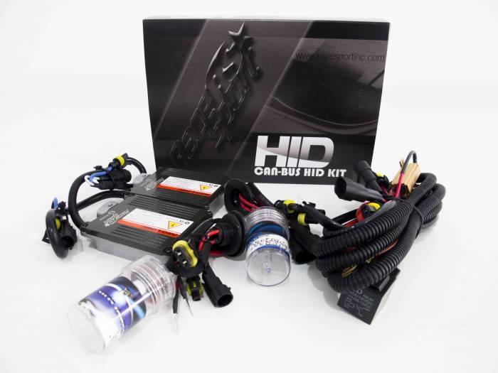 Race Sport - Race Sport H4 6K G1 Canbus Kit w/ Relay Resistor (H4-6K-G1-CANBUS-R)