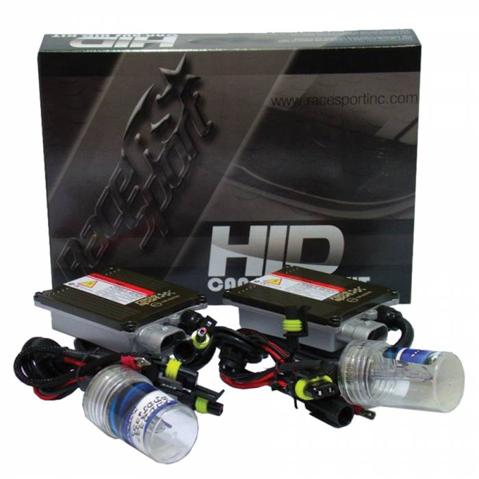 Race Sport - Race Sport H4-3 6K Gen1 Canbus 35 Watt Bi-Xenon HID Kit (H4-3-6K-G1-CANBUS)