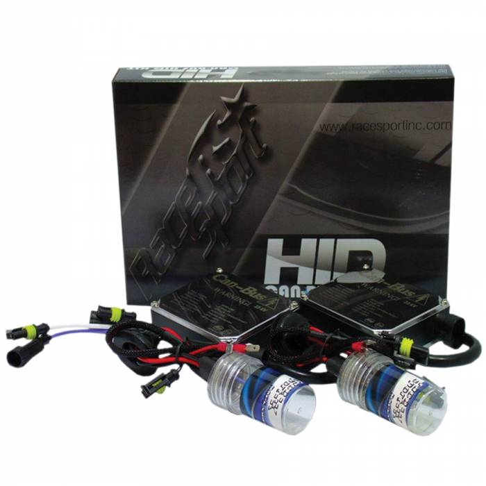 Race Sport - Race Sport H4-3-12K Gen2 Canbus 35 Watt HID Kit (H4-3-12K-G2-CANBUS)