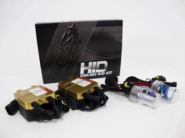 Race Sport - Race Sport H4-3 Purple Gen4 Canbus 35 Watt HID Kit (H4-3-PURPLE-G4-CANBUS)