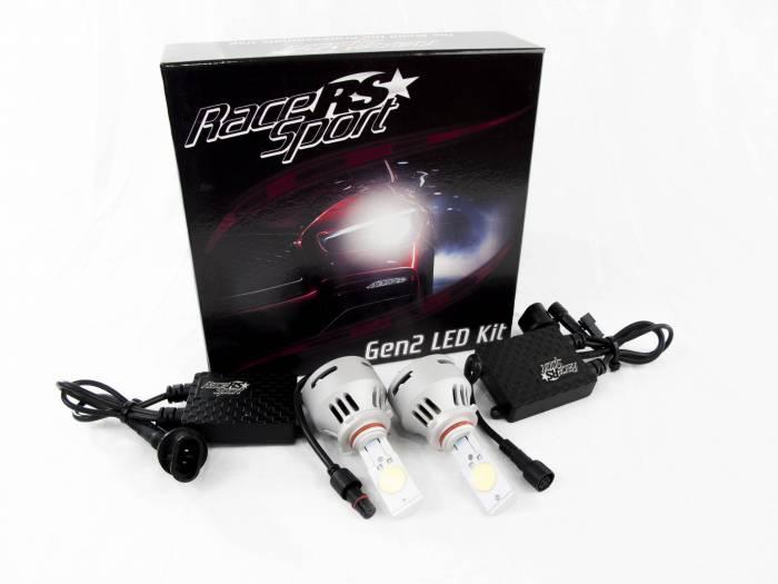 Race Sport - Race Sport H10 G2 5500K TRUE LED Headlight Kit (H10-LED-G2-KIT)