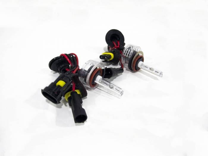 Race Sport - Race Sport H11 Purple Replacement Bulb (Pair) (H11-PURPLE-SB-RB)