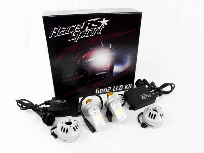 Race Sport - Race Sport H13 G2 5500K TRUE LED Headlight Kit (H13-LED-G2-KIT)