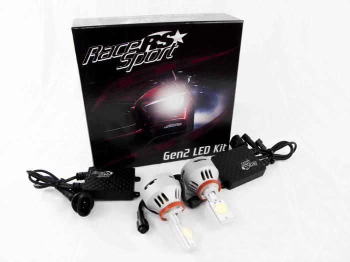 Race Sport - Race Sport H9 G2 5500K TRUE LED Headlight Kit (H9-LED-G2-KIT)