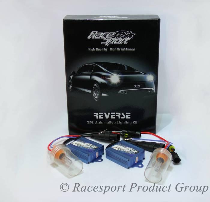 Race Sport - Race Sport Reverse Back Up/Fog Light HID Kit 6,000 K (HID-R-6K)