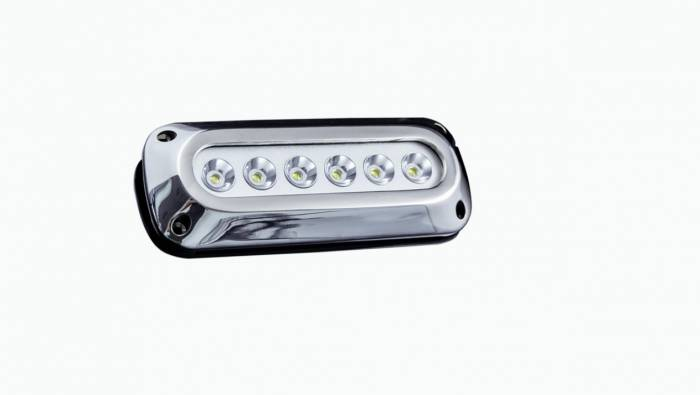 Race Sport - Race Sport 6 LED 6x3W Surface Mount Marine Light (White) (MS-6E01ML-6X3W)
