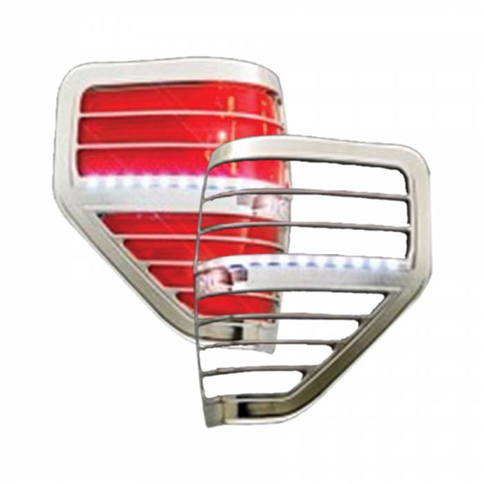 Race Sport - Race Sport 09-13 Ford F150 LED Taillight Bezel (RS-0913FORD1-TLB)
