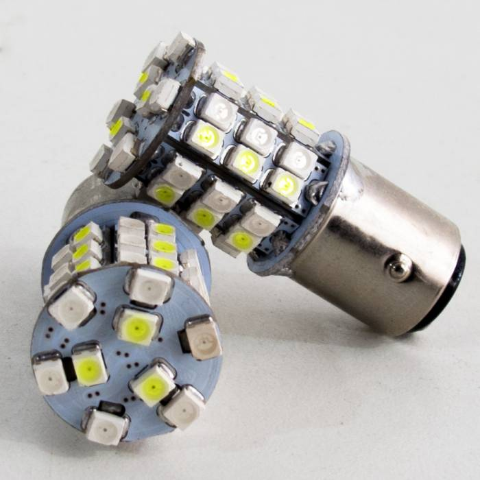 Race Sport - Race Sport 1157 White/Yellow LED Dual Swithcback Auto Bulb (RS-1157-WY-TS)