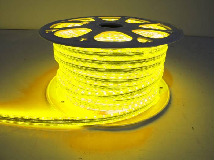 "Race Sport - Race Sport 110V ""Atmosphere"" Waterproof 5050 LED Strip Lighting Yellow (MS-5050-164FT-Y)"