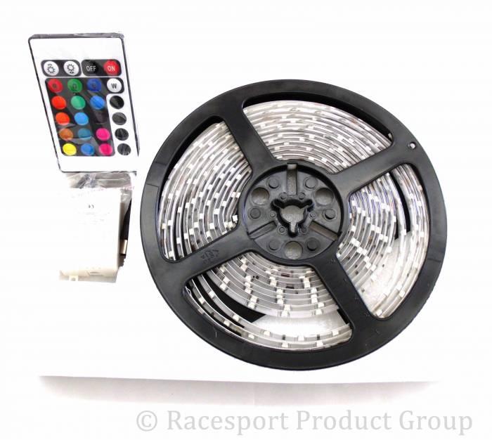 Race Sport - Race Sport 16ft (5M) 20-Color RGB 5050 LED Strip w/ Remote (RS-16FT-5050-RGB)