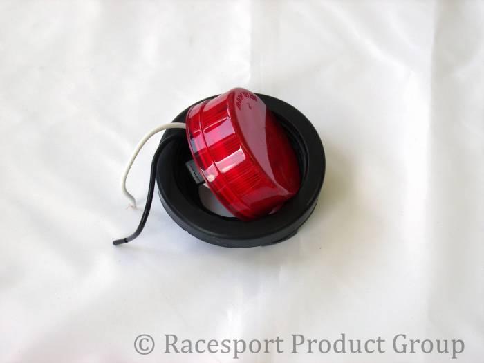 """Race Sport - Race Sport 2.5"""" Round Red (w/ Grommet) (RS-2.5-GR)"""