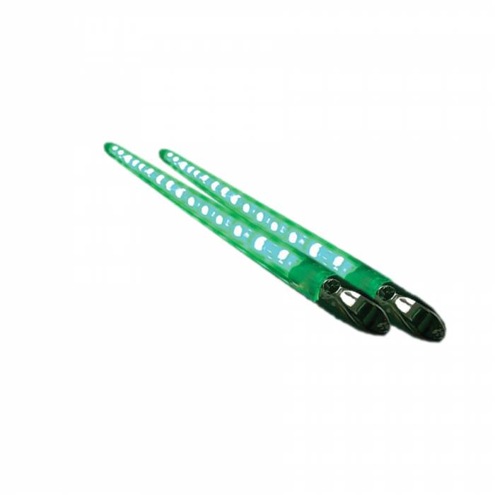 """Race Sport - Race Sport (Pair) 13"""" Marine Extreme Series Accent Bar (Green) (MS-VLED_13-G)"""