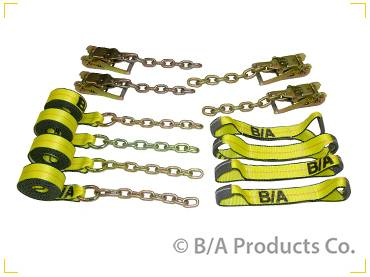 B/A Products - B/A Products Patented Roll Back Tie-Down System with Chain Ends  (38-200C)