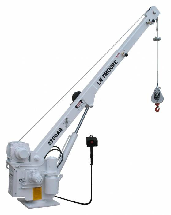 Liftmoore - Liftmoore DC Powered Crane: 2700AR Series (2700AR-14)