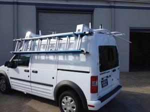 Kargo Master - Kargo Master Compact Vans EZ-LoDown Ladder Rack (40933) - Image 2